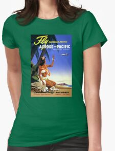 Canada Vintage Travel Poster Restored T-Shirt