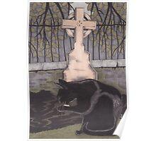 St Nicholas Kirkyard, Aberdeen Poster