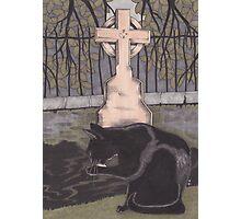 St Nicholas Kirkyard, Aberdeen Photographic Print