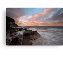 Rainbow Coast Canvas Print