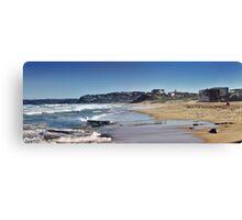 Bar Beach Panorama Canvas Print