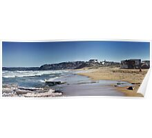 Bar Beach Panorama Poster