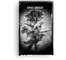 Dino Jenga! Canvas Print
