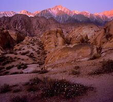 Alabama Hills Sunrise by Chris Whitney