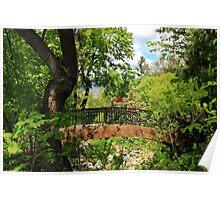 Lithia Park Bridge Poster