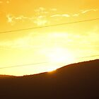 Sunset Over Los Alamos by WolfPause