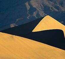 Dune and Mountains by Chris Whitney