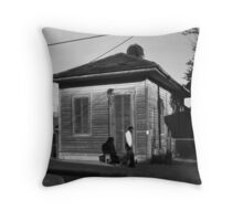New Orleans, Louisiana 1979 Throw Pillow