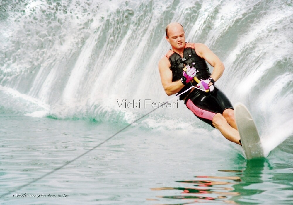 Water Skiing © Vicki Ferrari Photography by Vicki Ferrari
