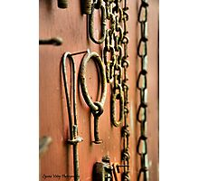 Vintage Chains Photographic Print