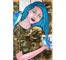 Bluebirds of Happiness Photographic Print