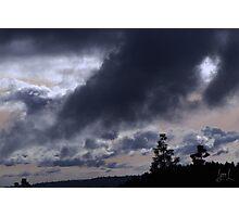 Sierra Storm Photographic Print