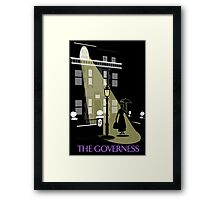 The Governess at No. 17  Framed Print