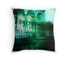 Street life Throw Pillow