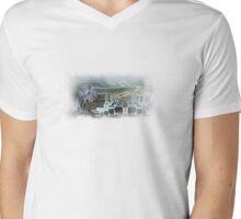 T-a place of no future Mens V-Neck T-Shirt