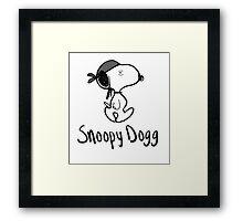 Snoopy Dogg Framed Print