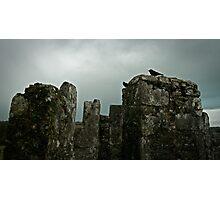 Moody Castle Photographic Print