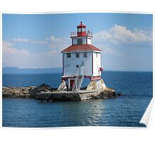 Thunder Bay Lighthouse Poster