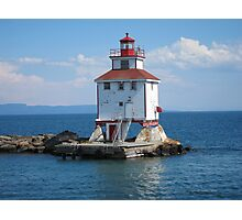 Thunder Bay Lighthouse Photographic Print