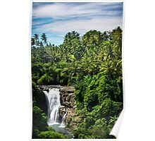 Bali Falls Poster