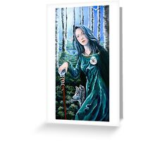 By moonlight Greeting Card