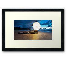 New Sun Rising II Framed Print