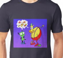 Heffer and Gir in Food Heaven Unisex T-Shirt