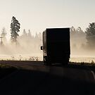 25.7.2015: Truck on the Road by Petri Volanen