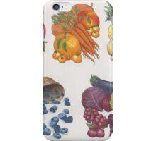 Fruits & Veggies  iPhone Case/Skin