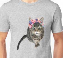 Flower Crown Cleo Unisex T-Shirt