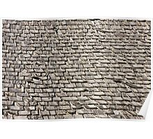 Weathered Shingles Poster