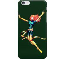 Pixelated Jean Grey (Phoenix) iPhone Case/Skin