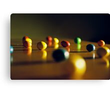 Candy Under Inspection Canvas Print