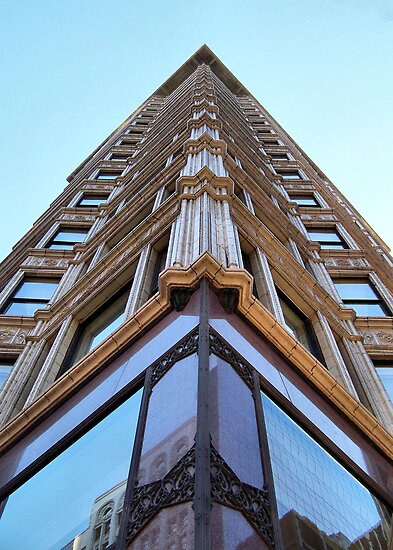 Reliance Building, Chicago, Daniel Burnham by Crystal Clyburn