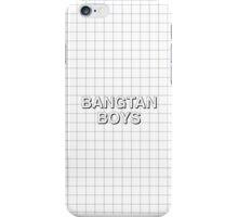 BTS Grid Phone Case iPhone Case/Skin
