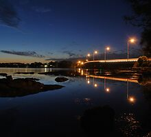 Toukley Bridge 9-8-2010 by Warren  Patten