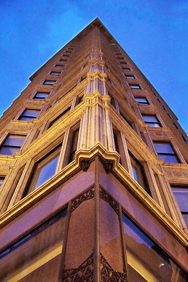 Reliance Building 2, Chicago, Daniel Burnham by Crystal Clyburn