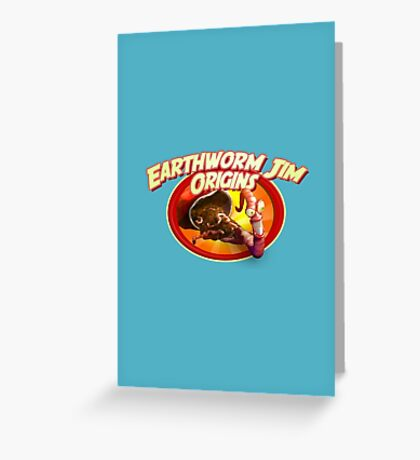 earthworm jim origin Greeting Card