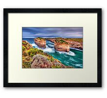 Ohhh WOW Framed Print