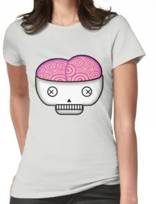 Smarty Skull Womens Fitted T-Shirt