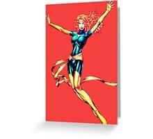Jean Grey Phoenix II Greeting Card