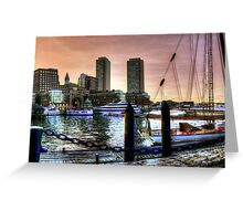 Sail with me Greeting Card