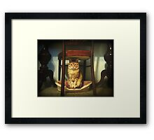 Please, you step into my office...now!!! Framed Print