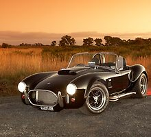 Black 1965 Shelby Cobra 427 Replica by John Jovic