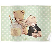 honey bees and holmes bears Poster