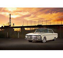Cream Ford Falcon XM Coupe Photographic Print