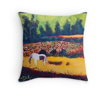 Bridge at Ballea, Cork Throw Pillow