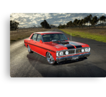 Red Ford XY GT Replica Canvas Print