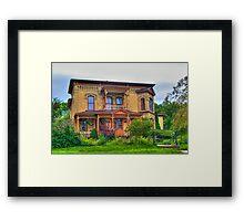 Lovely Old House Framed Print