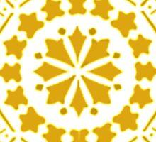 Sun Medallion Sticker